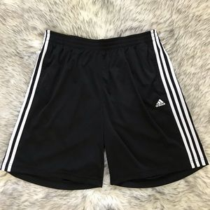 Black Adidas Workout Shorts